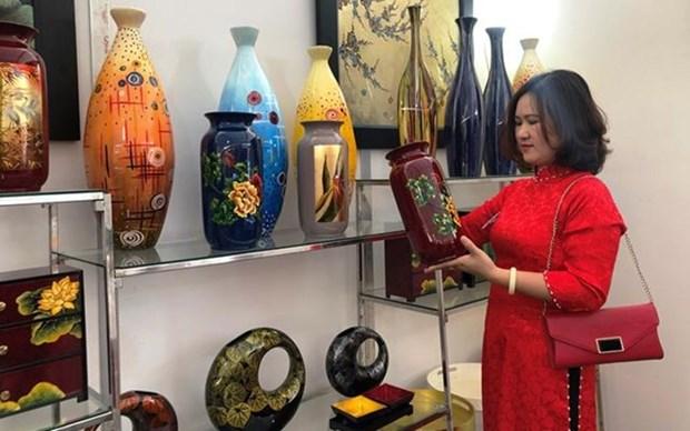 Promoveran productos locales en la feria comercial en Hanoi hinh anh 1