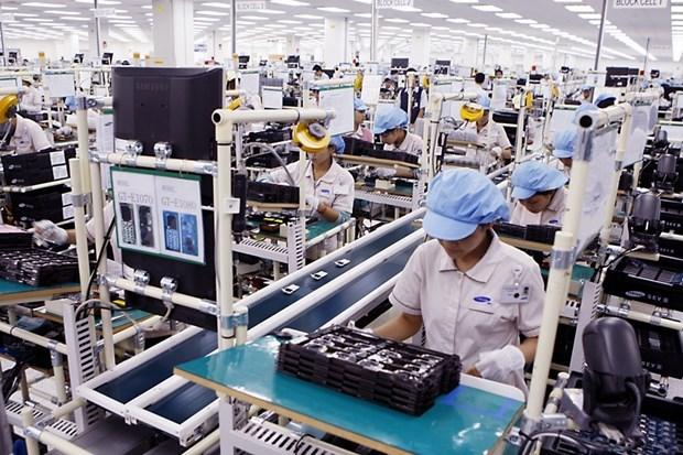 Exportacion de productores electronicos de Vietnam supera 12 mil millones de dolares hinh anh 1