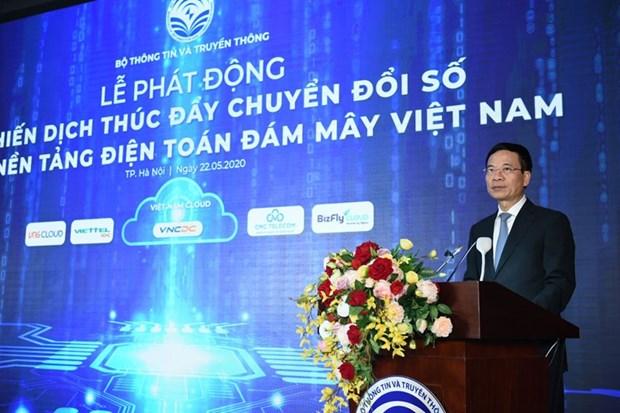Promueven tecnologia de computacion en la nube para la transformacion digital en Vietnam hinh anh 1