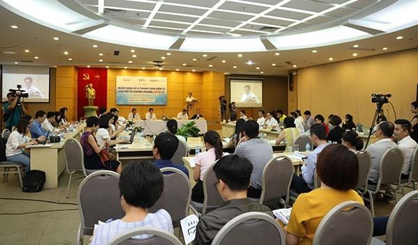Promueven en Vietnam el banco virtual y pago electronico hinh anh 1