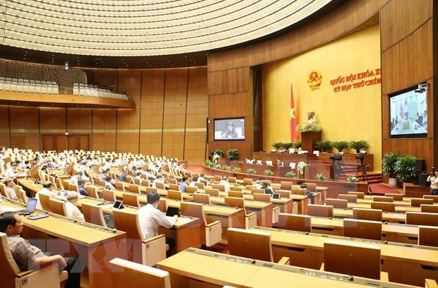 Parlamento de Vietnam analiza hoy la elaboracion de leyes y ordenanzas hinh anh 1