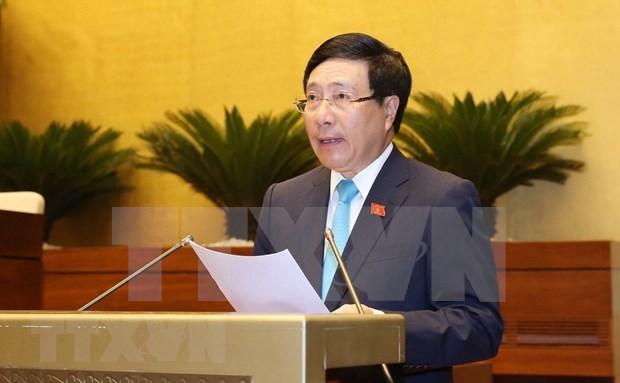 Estudia Parlamento de Vietnam Ley sobre Acuerdos Internacionales hinh anh 1