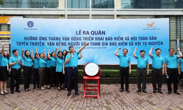 Lanzan en Vietnam campana para promover seguridad social para todos hinh anh 1