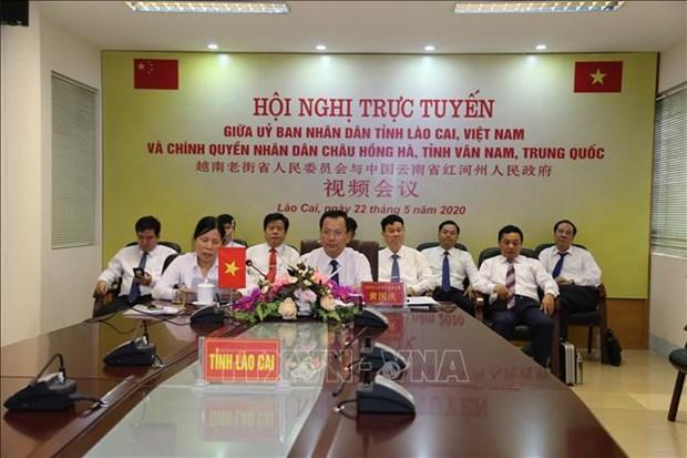 Provincias de Vietnam y China trabajan por facilitar despacho aduanero de productos hinh anh 1