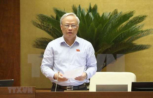 Parlamento de Vietnam continua agenda de trabajo de su IX periodo de sesiones hinh anh 1