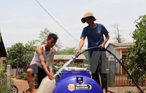 Provincia vietnamita de Long An enfrenta grave escasez de agua hinh anh 1