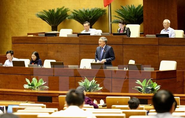 Concluye Parlamento de Vietnam quinta jornada de su IX periodo de sesiones hinh anh 1