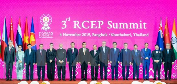 Tailandia: Acuerdo comercial regional RCEP se firmara este ano hinh anh 1