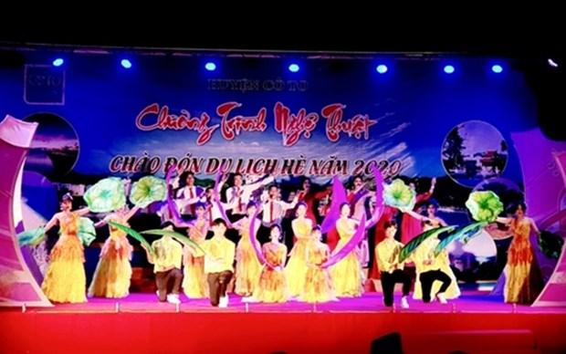 Celebran en provincia vietnamita Semana de Turismo de Co To 2020 hinh anh 1