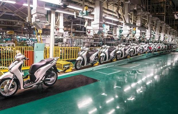 Crecen ventas de motocicletas de Honda en Vietnam a pesar del COVID-19 hinh anh 1