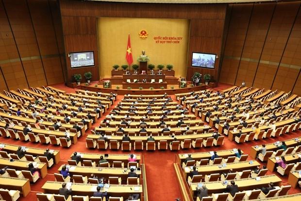 Parlamento de Vietnam concluye sexta jornada del trabajo del IX periodo de sesiones hinh anh 1