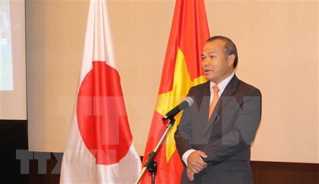Cooperan Vietnam y Japon en lucha antiepidemica, afirma embajador hinh anh 1