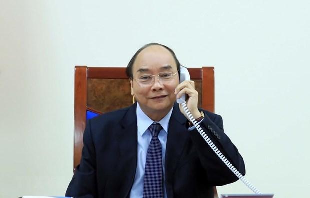 Vietnam y Filipinas debaten cooperacion bilateral y regional en medio de pandemia hinh anh 1