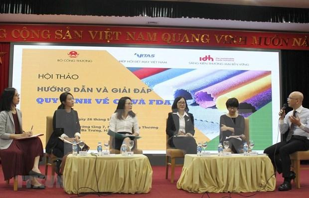 Buscan mayor presencia de productos vietnamitas en Union Europea y Estados Unidos hinh anh 1