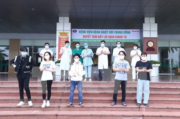 Vietnam reporta otros seis pacientes recuperados del COVID-19 hinh anh 1