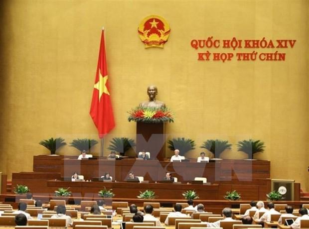 Concluye Parlamento de Vietnam septima jornada de su IX periodo de sesiones hinh anh 1