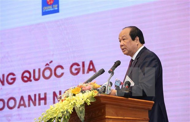 Abordan dificultades de empresas vietnamitas y medidas para promover la produccion y los negocios hinh anh 1
