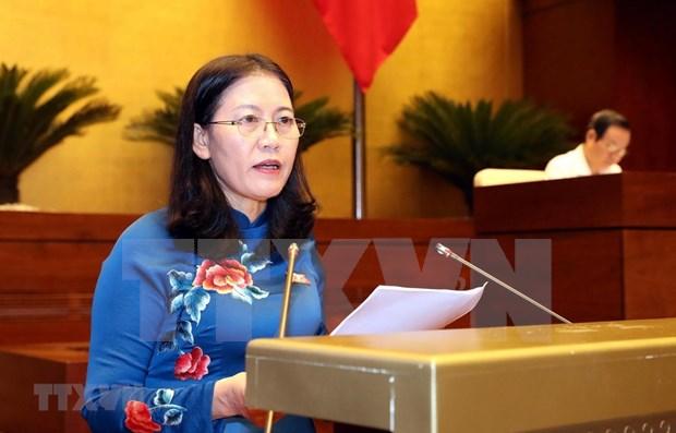 Cumplimiento de politicas a favor de ninos centra agenda parlamentaria de Vietnam hinh anh 1