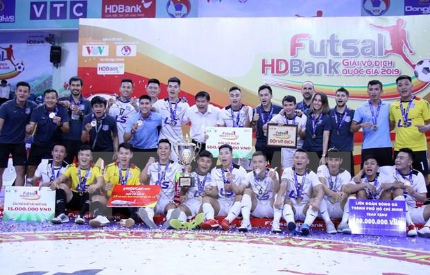 Campeonato de futsal de Vietnam comenzara en junio hinh anh 1