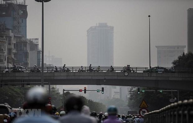 Hanoi recibe 24 estaciones automaticas de monitoreo de aire hinh anh 1