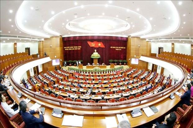 Resaltan resultados del XII pleno del Comite Central del Partido Comunista de Vietnam hinh anh 1