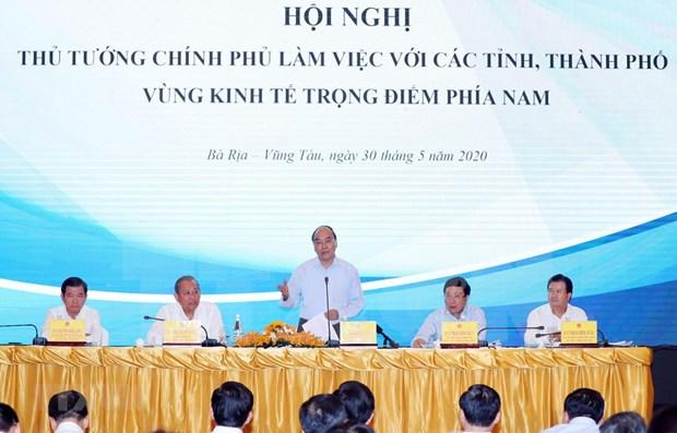 Premier de Vietnam exige estimular avance de la zona economica clave del Sur hinh anh 1