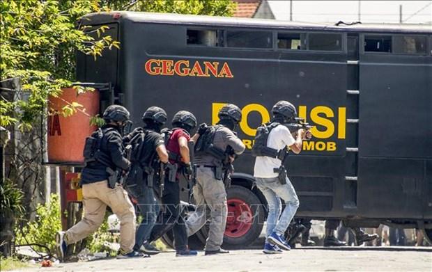 Policia indonesio asesinado por extremistas relacionados con Estado Islamico hinh anh 1