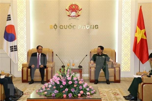 Destacan avances de cooperacion Vietnam-Corea del Sur en defensa hinh anh 1