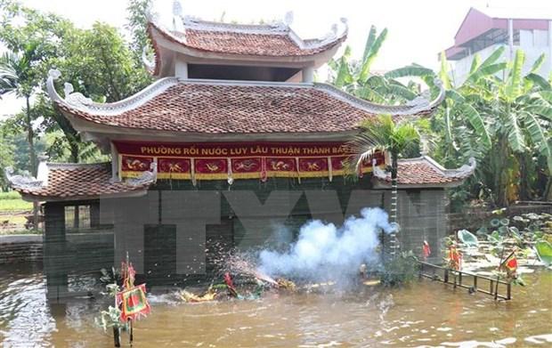 Promueven cultura vietnamita en Museo Oriental de Moscu hinh anh 1