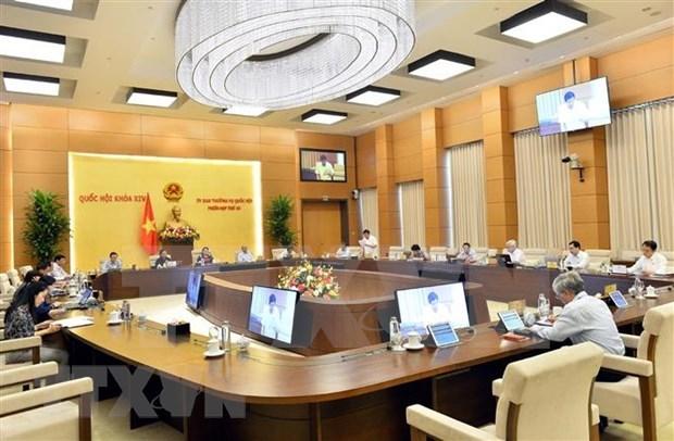 Comite de Asamblea Nacional de Vietnam adopta resolucion sobre inversion publica hinh anh 1