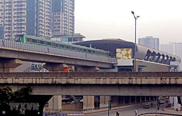 Aclaran informacion relacionada con proyecto ferroviario urbano en Hanoi hinh anh 1