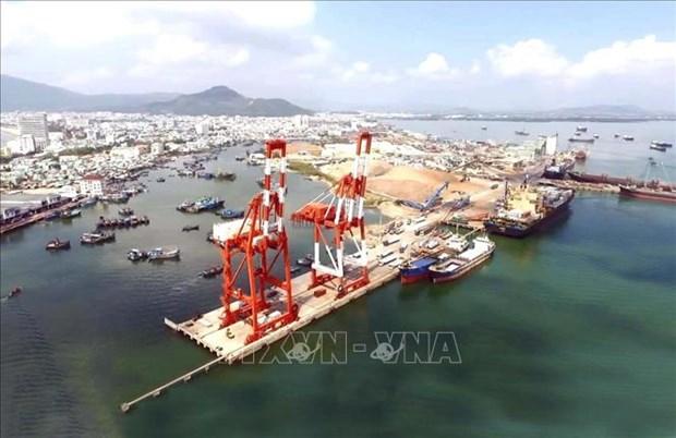 Inauguraran servicio de transporte directo de puerto vietnamita hacia Noreste de Asia hinh anh 1