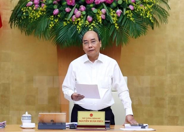 Exige premier mayores esfuerzos para cumplir el plan estatal en 2020 hinh anh 1
