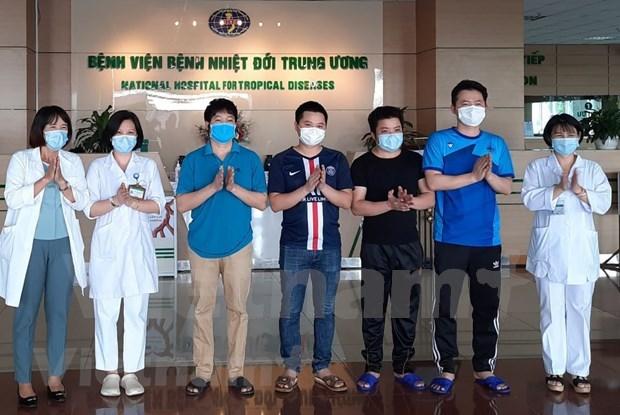 Ya se han curado el 91 por ciento de pacientes con coronavirus en Vietnam hinh anh 1