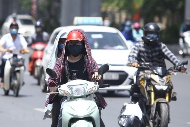 Vietnam registra mas dias calurosos en primera quincena de junio hinh anh 1