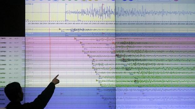 Sacude sismo de magnitud 6,5 las costas nortenas de Indonesia hinh anh 1
