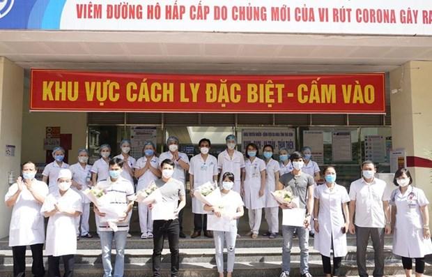 Mas del 92 por ciento de los pacientes en Vietnam vence al COVID-19 hinh anh 1