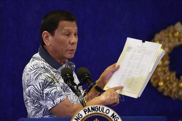 Adopta Filipinas nuevo proyecto de ley antiterrorista hinh anh 1