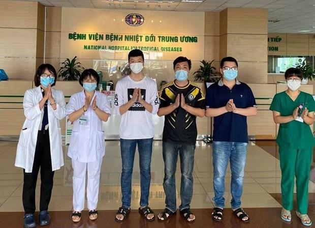 Recuperados el 94 por ciento de pacientes de COVID-19 en Vietnam hinh anh 1