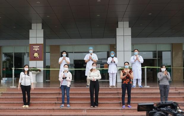 Confirma Vietnam otros cinco pacientes recuperados de COVID-19 hinh anh 1