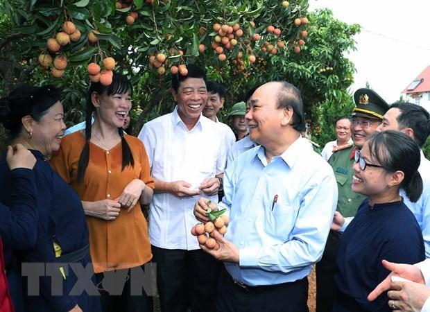 Premier vietnamita insta a Bac Giang a seguir modelo de crecimiento intensivo hinh anh 1