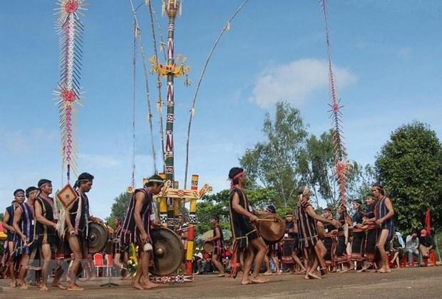 Presentaran cultura del gong en grandes ciudades de Vietnam hinh anh 1