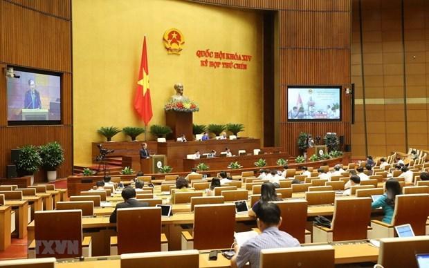 Asamblea Nacional de Vietnam votara tratado de libre comercio con EU hinh anh 1