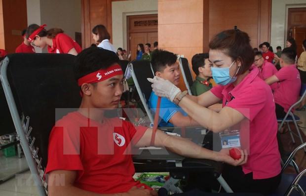 Honran a donantes de sangre en Ciudad Ho Chi Minh hinh anh 1