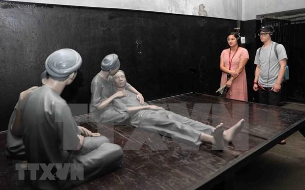 Reliquia Prision de Hoa Lo en Hanoi por atraer mas turistas nacionales hinh anh 1