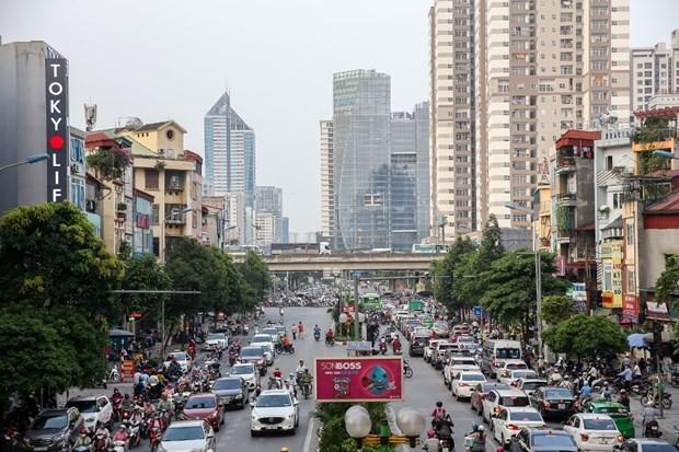 Mejora calidad de aire en ciudades vietnamitas en mayo hinh anh 1
