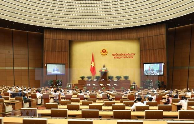 Parlamento de Vietnam votara resoluciones para ratificar EVFTA y EVIPA hinh anh 1
