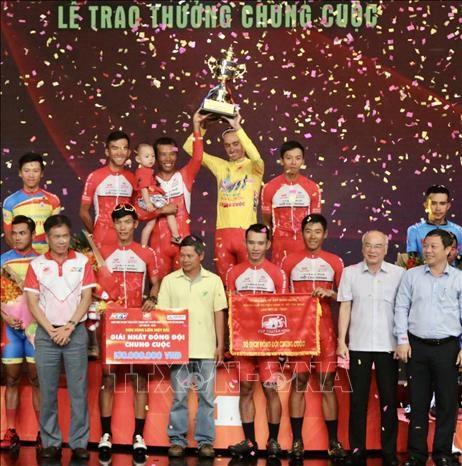 Concluye en Vietnam torneo nacional de ciclismo 2020 hinh anh 1