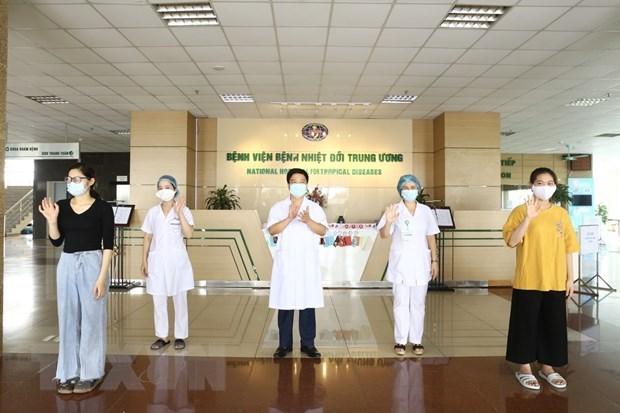 Vietnam: el 95,2 por ciento de pacientes con coronavirus se recuperan hinh anh 1