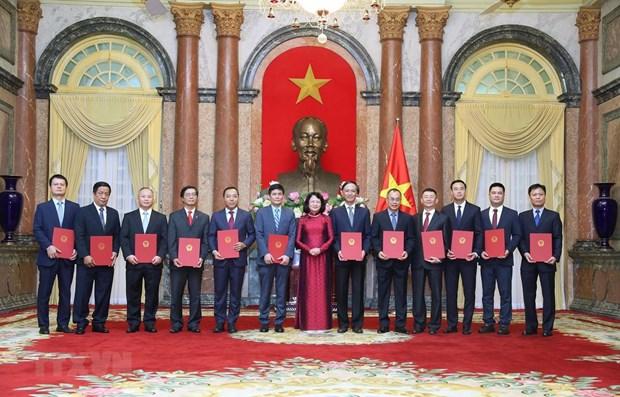 Designan a 12 nuevos embajadores vietnamitas para mandato 2020-2023 hinh anh 1